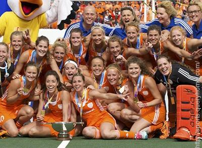 Netherlands has won women's Hockey World Cup 2014.