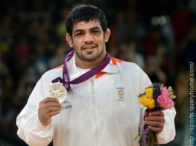 Indian wrestler Sushil Kumar was the flag bearer of Indian Team in 2012 Summer Olympic.