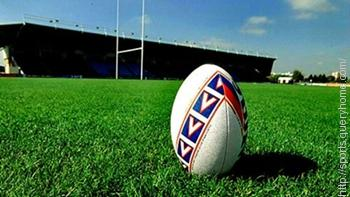 The height of the crossbar in Rugby is 3 metres (10 feet).