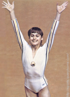 Nadia Comaneci stole the show in Gymnastics at the Montreal Olympics in 1976.