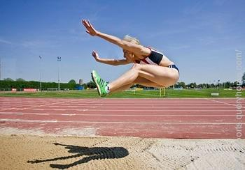 In Long Jump the term 'hitch kick' is used.