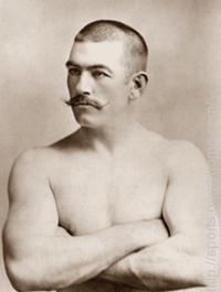 John L. Sullivan** was the first world heavyweight boxing champion.