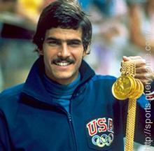 American athlete Mark Spitz broke 7 world records and won 7 gold medals at the 1972 Olympic games.