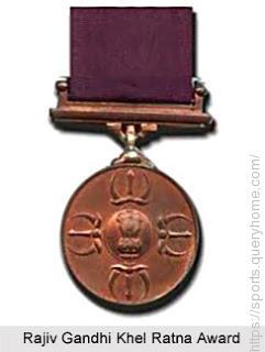 Rajiv Gandhi Khel Ratan Award