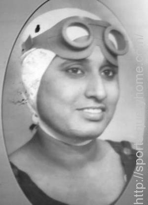 Arati Saha is the first Indian/Asian woman swimmer to cross English Channel in 1959.