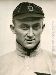 "Tyrus Raymond nicknamed ""The Georgia Peach"", was an American Major League Baseball (MLB) outfielder. He was born in rural Narrows, Georgia."