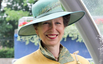 Princess Anne was excused a sex test at the 1976 Olympics in Montreal.
