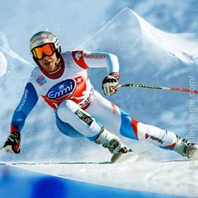 Lauberhorn ski event has the longest course in the world.