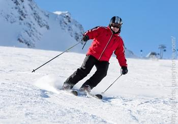 In Skiing the terms 'christie', 'traverse' and 'edge' are used.