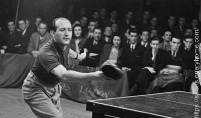 Hungarian player Victor Barna became World Champion five times in table tennis.