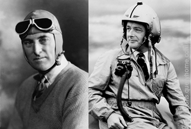 Malcolm Campbell and his son Donald Campbell both held world land and water speed records.