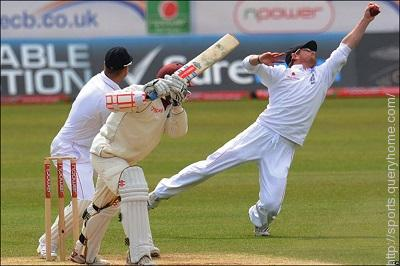 What is the name of the fielding position just behind and to the off side of the keeper?