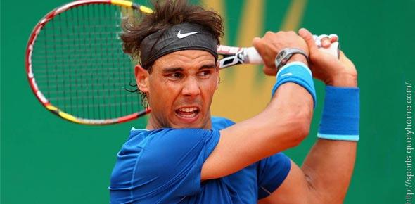 Where did Rafael Nadal win his first tennis title