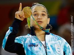 Paula Pareto was the first Argentine woman to become an Olympic champion.