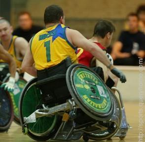 Wheelchair rugby sports is originally called murderball