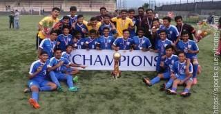 India win the 2017 SAFF Under-15 Championship.