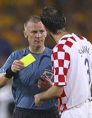 In which tournament the red and yellow card system was first introduced?