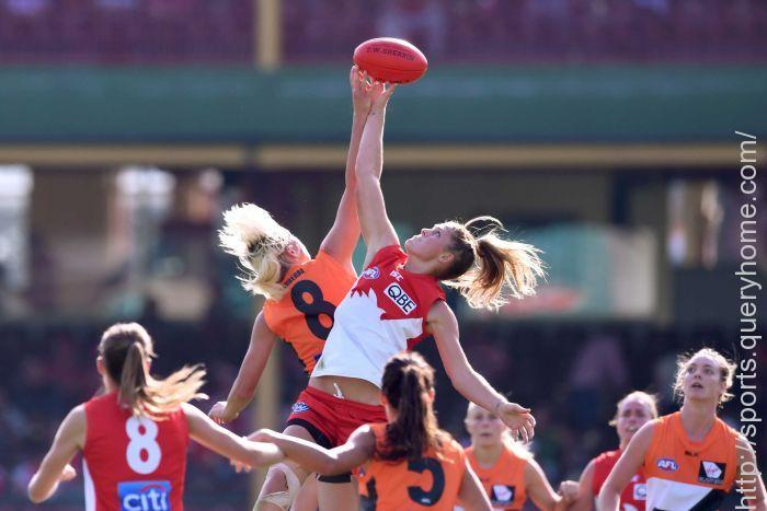 AFLW grand final at Metricon