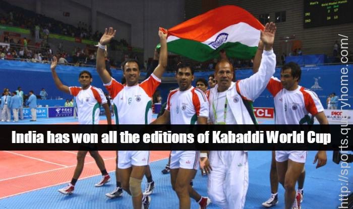 India beat Iran to win their third successive Kabaddi World Cup title