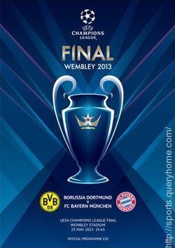 UEFA Champions League 2013 was won by Bayern Munich