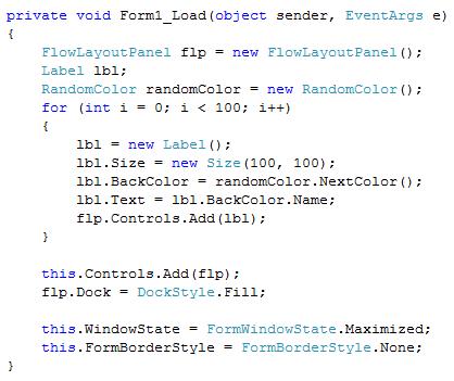 RandomColors - Microsoft Visual Studio_2013-01-31_23-32-13