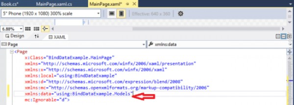 xaml namespace