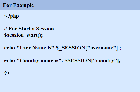 Session Examples