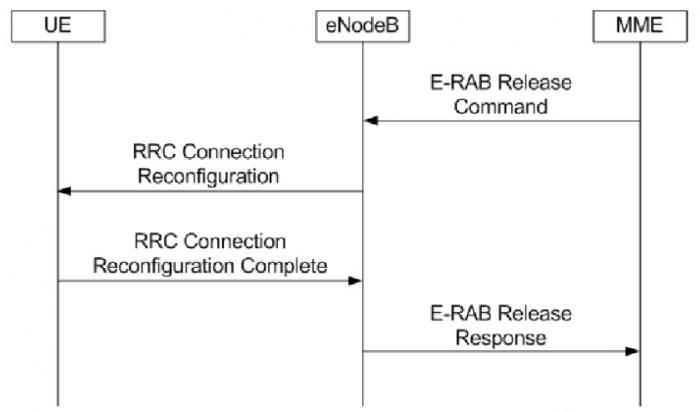 E-Rab release
