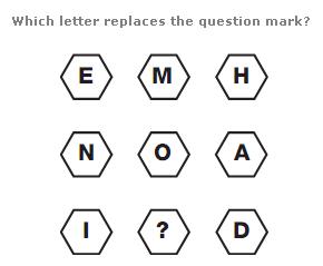 Letter = ?