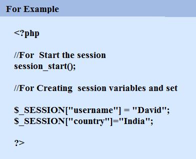 Session Start