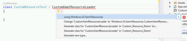 Windows.UI.Xaml.Resources
